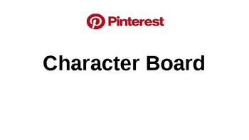 Literature Circle Character Pinterest Board