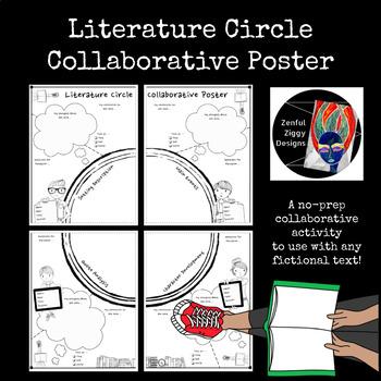 Literature Circle Collaborative Poster-  Shared Reading