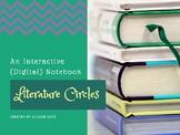 Literature Circle Digital Interactive Notebook
