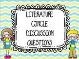 Literature Circle Discussion Cards