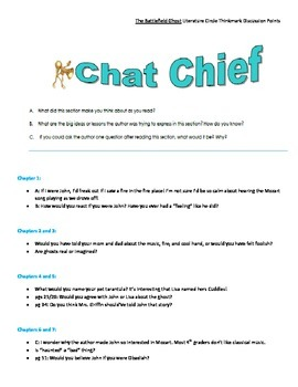 Literature Circle Discussion Points for The Battlefield Ghost