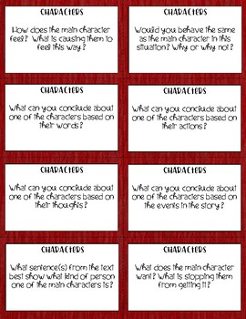 Literature Circle Discussion Questions for Literary Text