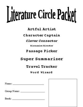 Literature Circle Fun Job Packet
