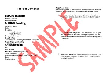 Literature Circle Guide (Adaptable to ANY Novel AND aligned to CCS!)