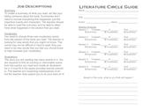 Literature Circle Guide - Level 1