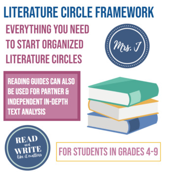Literature Circle Guide: Framework for Running Efficient Small Reading Groups