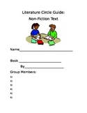 Literature Circle Guide for Students--Nonfiction