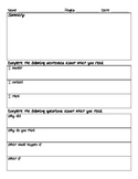 Literature Circle Guided Response Page