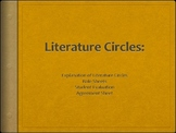 Literature Circle Introductory PPT