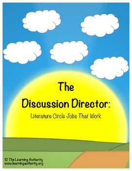 Literature Circle Job #2 - The Discussion Director