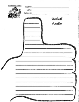 Literature Circle Job #5 - The Radical Reteller