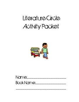 Literature Circle Job Booklet for Elementary and Intermediate Grades