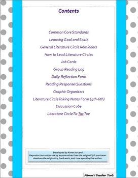 Literature Circles: Amazing Resources