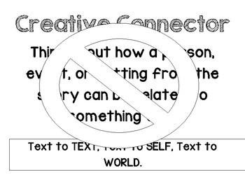Literature Circle Job Description Posters