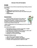 Literature Circle Job Descriptions