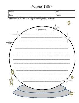 Literature Circle Job Sheets
