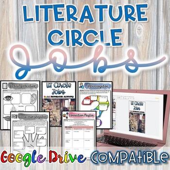 Literature Circle Jobs Worksheets {Google Drive}