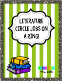 Literature Circle Jobs FREEBIE!