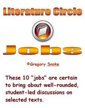 Literature Circle Jobs & Management