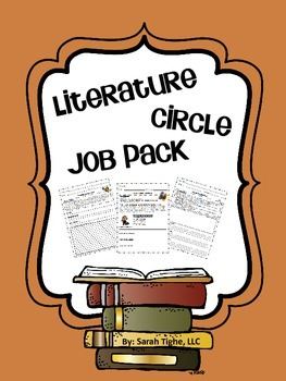 Literature Circle Jobs Pack