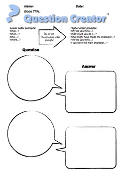 Literature Circle Jobs Packet
