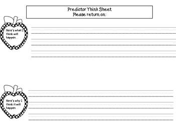 Literature Circle Jobs and Activity Sheets