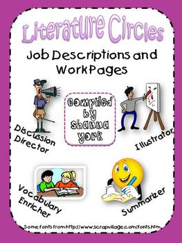 Literature Circle Jobs and Descriptions