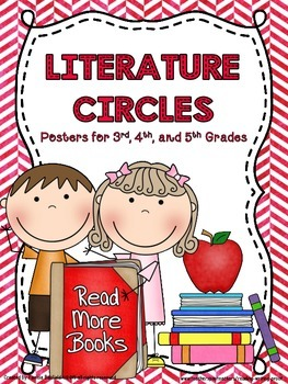 Literature Circle Jobs and Descriptions Posters