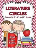 Literature Circle Jobs and Descriptions Posters