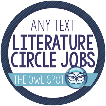 Literature Circle Jobs - use with any text