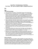Literature Circle Lesson Plan and Activities