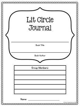 Lit Circle Response Journal