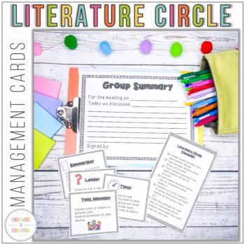 Literature Circle Management Cards