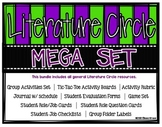 Literature Circle/Novel Study Bundle: Activities, Journal, Game, More {any book}
