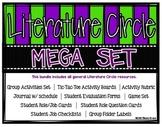 Literature Circle/Novel Study Bundle: Activities, Journal,