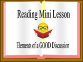 Literature Circle Mini Lesson Powerpoint