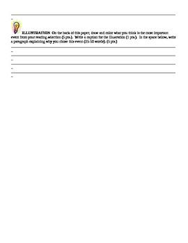 Literature Circle Novel Discussion Form