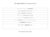 Literature Circle/ Novel Study Book Marks