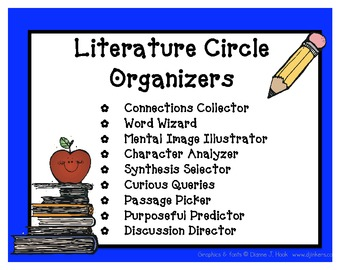 Literature Circle Organizers