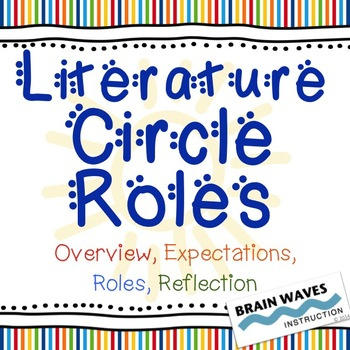 Literature Circle - Overview, Expectations, Roles, and Reflection
