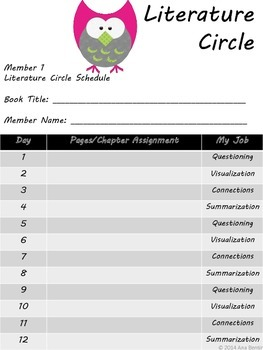 Elementary Literature Circle Pack