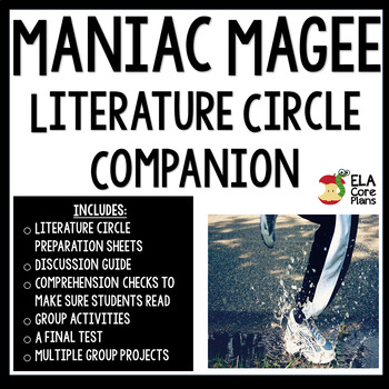 Literature Circle Packet for Maniac Magee ~ Would work as independent study too!