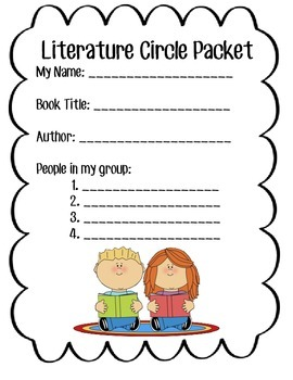 Literature Circle Packets