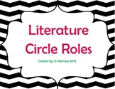 Literature Circle Poster Set for Intermediate Students