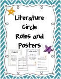 Literature Circle Posters and Recording Sheets