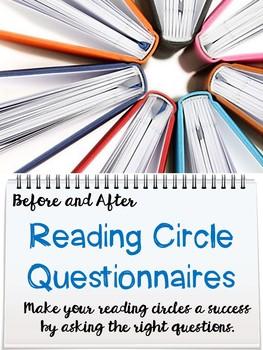 Literature Circle Pre Reading Questionnaire