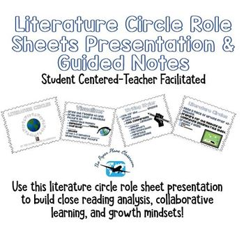 Literature Circle Presentation and Guided Notes