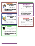 Literature Circle - Printable Role Cards