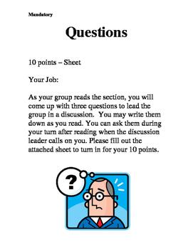 Literature Circle - Questions