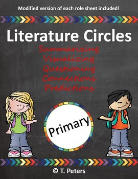 Literature Circle Reading Comprehension Roles